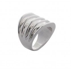 Sterling silver ring with five ridges design